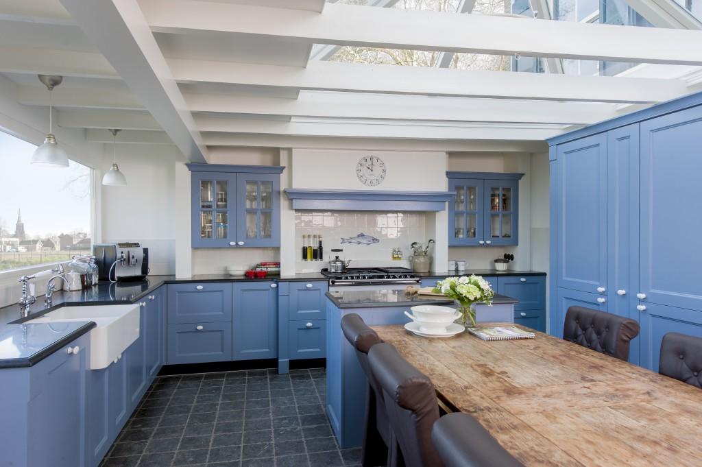 Keuken Met Schiereiland: Keuken barga grando keukens bad.