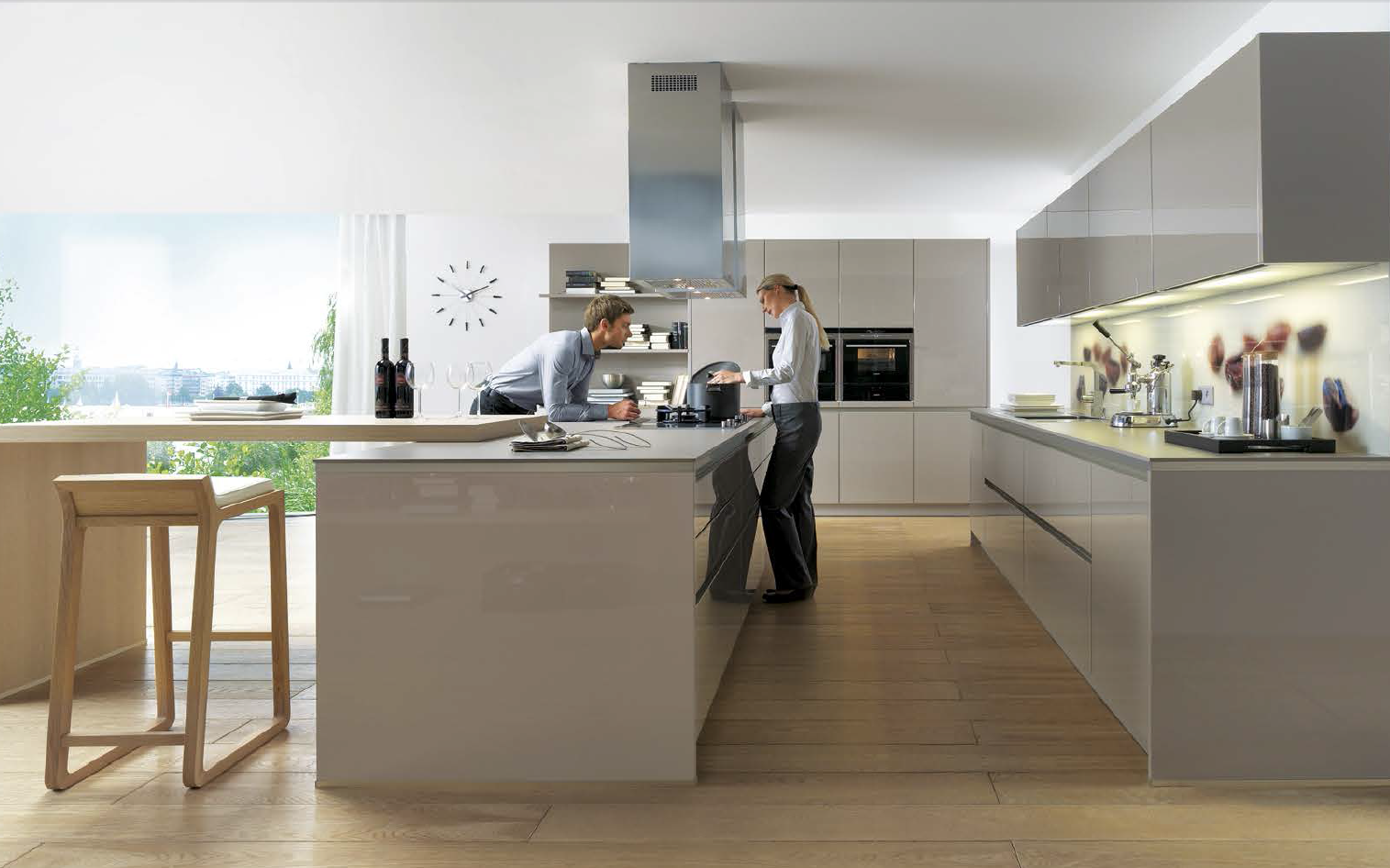 Tijdloze keukens keukenhuiz - Lounge warme kleur ...