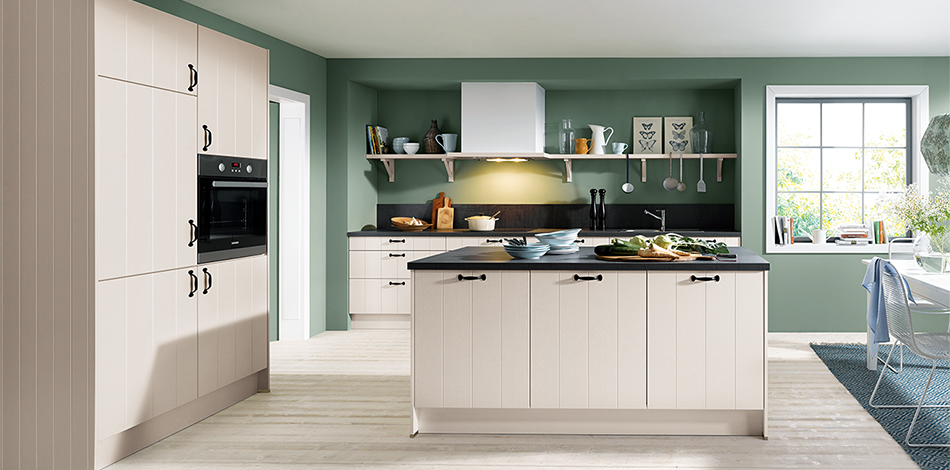 Keuken Taupe Kleur : Landelijke eiland keuken ook in taupe kleur verkrijgbaar!