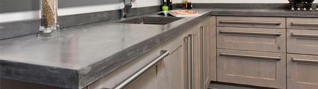 Keuken Met Betonblad : Werkbladen – KeukenHuiz