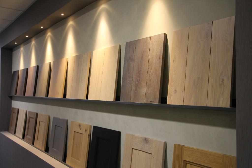 Massief houten keukendeurtjes